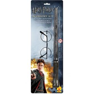 Televizní hrdinové - Hůlka a brýle Harry Potter