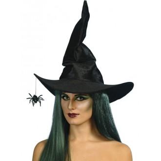 Čarodějnice - Klobouk Čarodějnice s pavoukem
