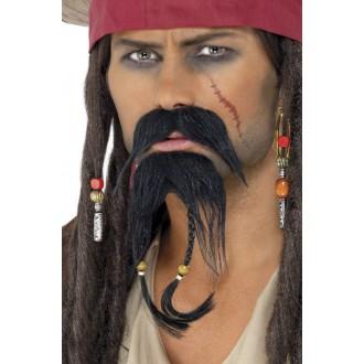 Piráti - Knír a bradka Pirát