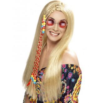 Hippie - Paruka Hippy Party s copem blond