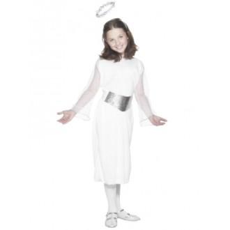 Mikuláš-Čert-Anděl - Dětský kostým Anděl