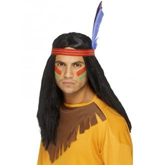 Indiáni - Paruka Indian brave