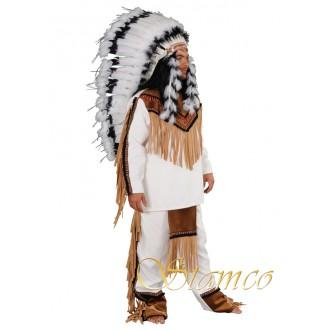 Indiáni - Indiánský kostým Sedící býk
