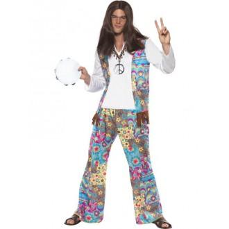 Hippie - Kostým Hippiesák