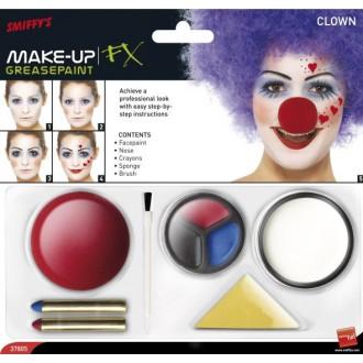Líčení a kosmetika - Barvy na obličej Klaun