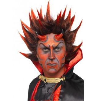 Mikuláš-Čert-Anděl - Paruka Devil punky