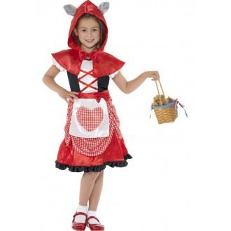 Televizní hrdinové - Dětský kostým Červená Karkulka