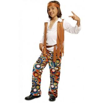 Hippie - Dětský chlapecký kostým Hippiesák