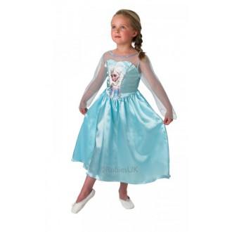 Kostýmy - Dětský kostým Princezna Elsa Ledové království I