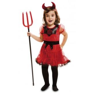 Mikuláš-Čert-Anděl - Dětský kostým Čertice