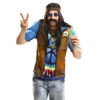 Hippie - Tričko 3D Hipiesák