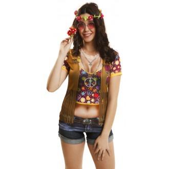 Hippie - Tričko 3D Hipiesačka
