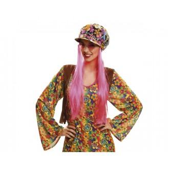 Hippie - Čepice Hippie s vlasy