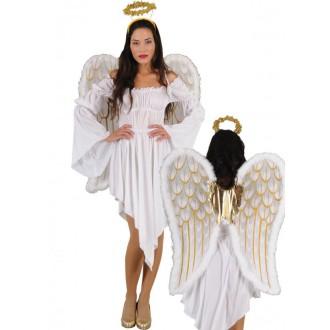 Mikuláš-Čert-Anděl - Kostým Anděl