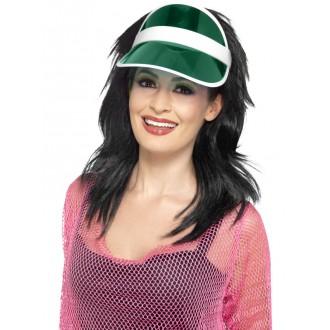 Klobouky-čepice-čelenky - Kšilt zelený