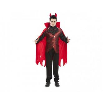 Mikuláš-Čert-Anděl - Pánský kostým Čert