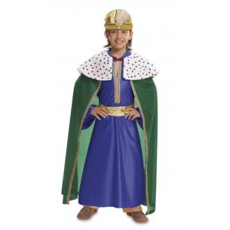 Kostýmy - Dětský kostým Tři králové modrý