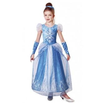 Princezny, víly - Dětský kostým princezna Elsa