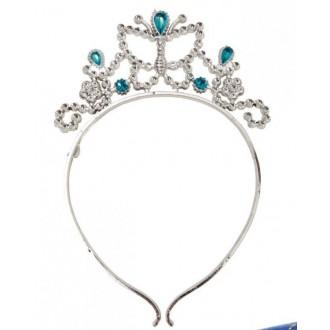 Klobouky-čepice-čelenky - Čelenka pro princezny modrá