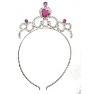 Klobouky-čepice-čelenky - Čelenka pro princezny růžová