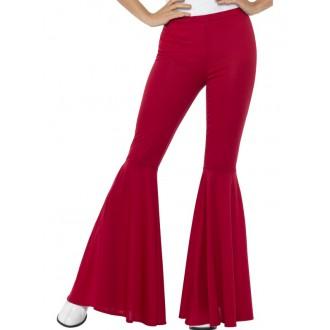 Kostýmy - Kalhoty Hippie, dámské červené
