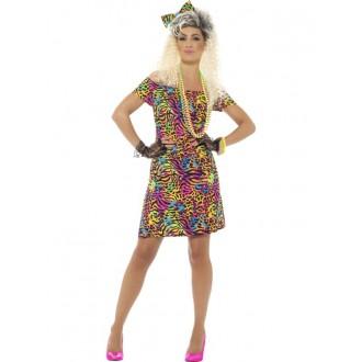 Kostýmy - Dámský kostým Šaty na party 80 léta