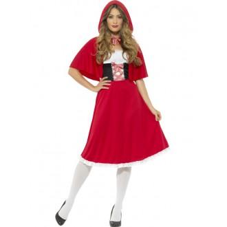 Televizní hrdinové - Dámský kostým Červená Karkulka I