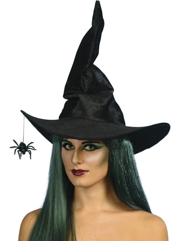 čarodějnický klobouk s pavoukem - Party-karneval.cz 14280483cc