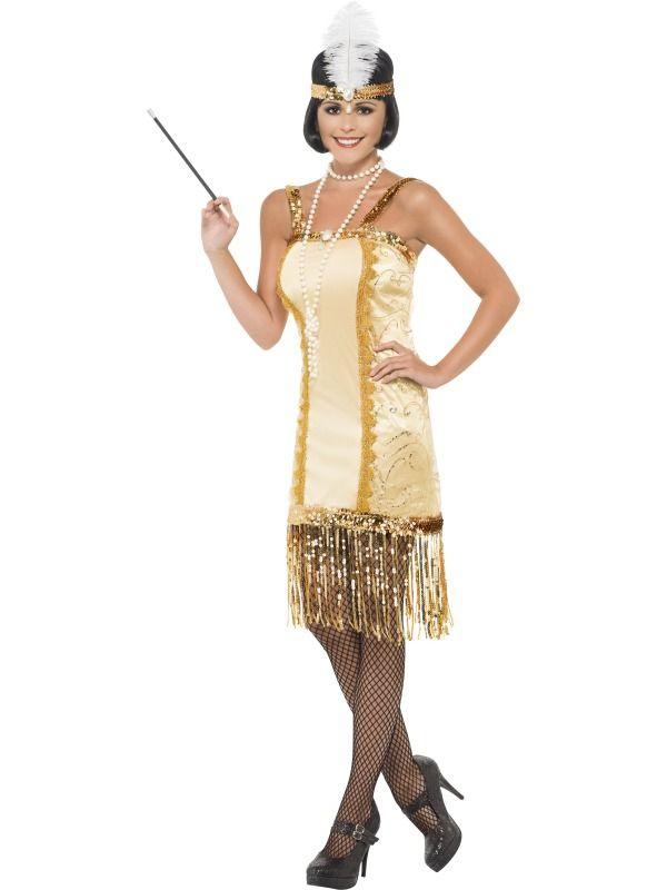 Kostýmy - Kostým Charleston flapper 7323920567f
