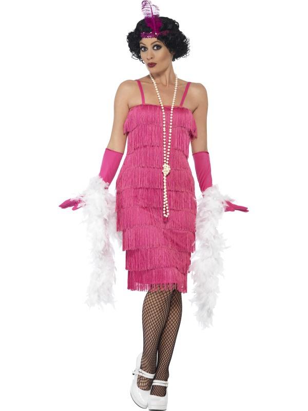 Kostýmy - Kostým Flapper dlouhé 36b413d61b1