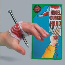 Hřebík skrz ruku