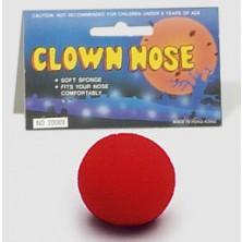 Molitanový klaunský nos červený I