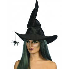 Klobouk Čarodějnice s pavoukem