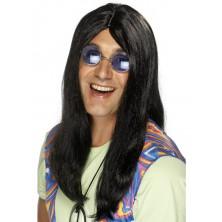 Paruka Hippie černá