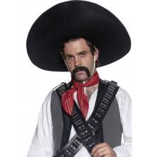 Černé sombréro Bandita