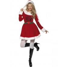 Dámský kostým Miss Santa
