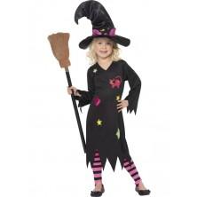 Dětský kostým Čarodějnice IV