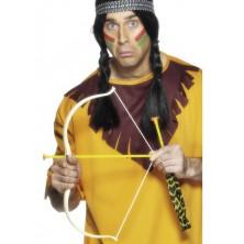 Indiánský luk 54 cm se 3 šípy