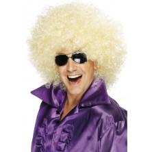 Paruka Mega Huge Afro blond