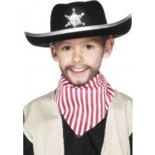 Dětský plstěný šerifský klobouk