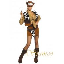Dámský kostým Kovbojka I