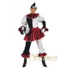 Dámský kostým Pierot