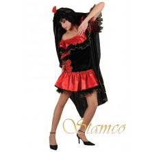 Dámský kostým Tanečnice flamenga II