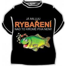 Tričko Já miluji rybaření