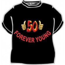 Tričko Forever young