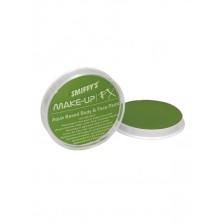 Barva na obličej a tělo limetková zelená