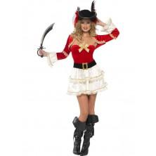 Dámský kostým Sexy pirátka 1