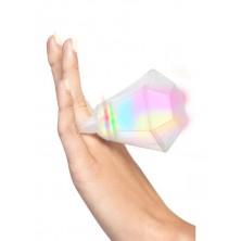 Prsten se sklenicí svítící