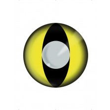 Oční čočky Yellow cat