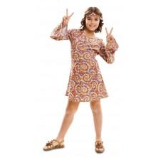 Dívčí kostým Hippiesačka